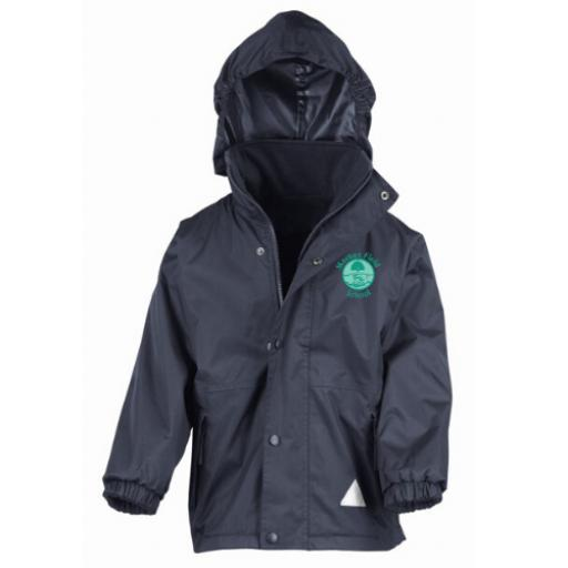 Market Field School Winter Reversible Coat 2in1