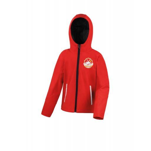 Leys Primary School Shell Hooded Jacket