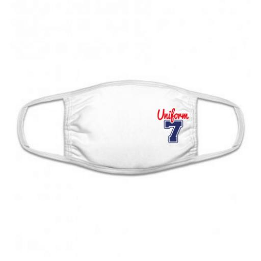 3-Ply Cotton Face Cover Mask with Full Colour Logo