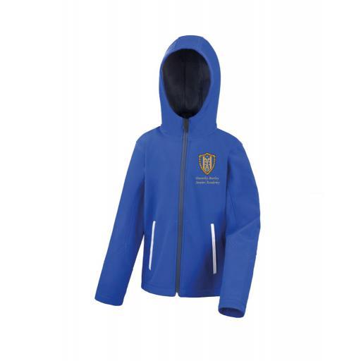 Dorothy Barley Junior Academy Shell Hooded Jacket