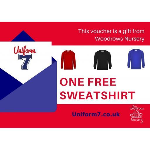 The Woodrows Nursery Sweatshirt Voucher