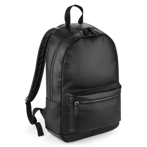 Faux Leather Backpack -Limited Metallic Edition