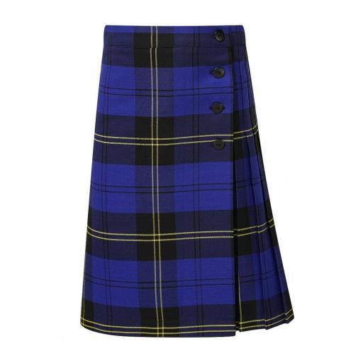 Dorothy Barley Infants School Kelso Tartan Kilt Skirt